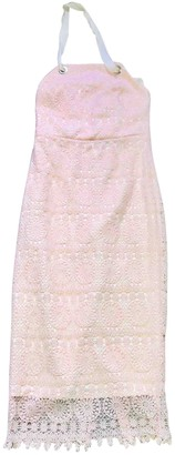 Rebecca Vallance Pink Lace Dress for Women