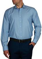 Geoffrey Beene Snow Ball Dobby Slim Fit Shirt