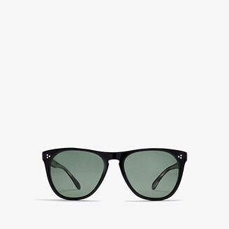 Oliver Peoples Daddy B. (Black/G-15) Fashion Sunglasses