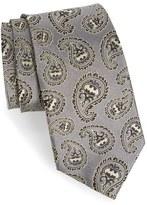 Cufflinks Inc. Men's Cufflinks, Inc. 'Batman' Paisley Silk Tie