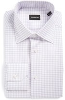 Ermenegildo Zegna Men's Regular Fit Check Dress Shirt