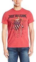 True Religion Men's 4Th American Skull T-Shirt