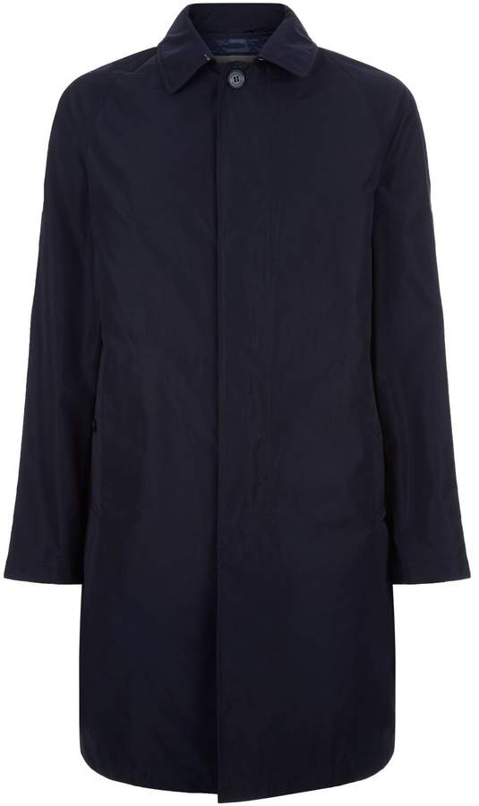 Burberry Wool Lined Overcoat