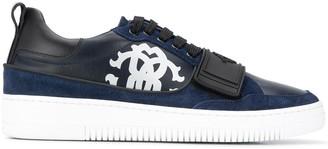 Roberto Cavalli Low-Top Leather Sneakers