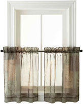 Asstd National Brand Eden Rod-Pocket Window Tiers