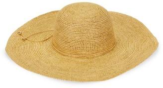 Sensi Crochet Lady Ibiza Straw Wide-Brim Hat
