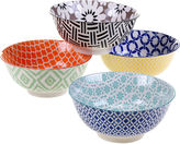Certified International Mix And Match Soho Set of 4 Bowls