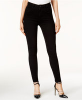 GUESS Cotton High-Waist Skinny Jeans