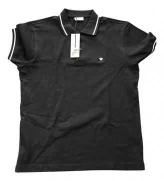 Christian Dior Black Cotton Polo shirts