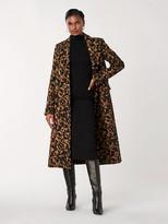 Diane von Furstenberg Elsa Wool-Blend Double-Breasted Coat