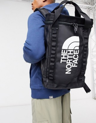 The North Face Explore Fusebox small backpack in black
