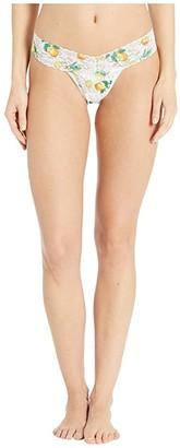 Hanky Panky Lemonade Petite Low Rise Thong (Multi) Women's Underwear