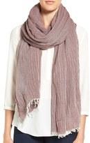 Eileen Fisher Wool & Modal Twill Scarf