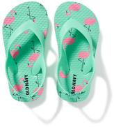 Old Navy Printed Flip-Flops for Toddler Girls