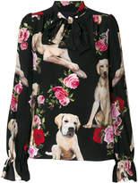 Dolce & Gabbana Mimmo printed blouse