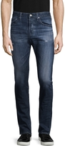 AG Adriano Goldschmied Men's Nomad Modern Slim Fit Distressed Jeans