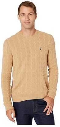 Polo Ralph Lauren Wool Cashmere Long Sleeve Cable Knit Sweater
