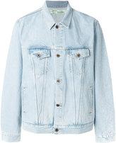 Off-White denim jacket - men - Cotton/Polyester - S