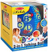 Melissa & Doug Kids' 2-in-1 Talking Ball