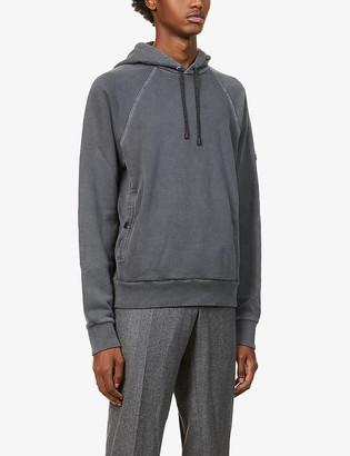 Ermenegildo Zegna Drawstring cotton-jersey hoody