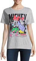 Freeze Mickey and Minnie Tee - Juniors