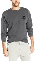 Diesel Men's Willy Mohican Lounge Crew Sweat Shirt