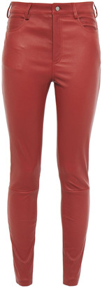 Drome Leather Skinny Pants