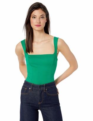 ASTR the Label Women's Dean Sleeveless Solid Stretch Knit Basic Bodysuit