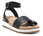 Lucky Brand Women's Ilysa Casual Wedge Sandals Women's Shoes