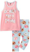 Petit Lem Donut Talk to Me Pajama (Little Girls & Big Girls)