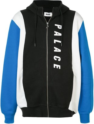 Palace Colour Block Zipped Hoodie