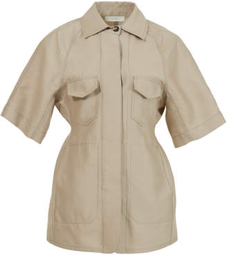 Lvir Wool-Silk Short Sleeve Jacket