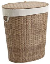 Pier 1 Imports Collin Light Brown Wicker Laundry Hamper