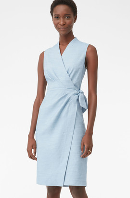 Rebecca Taylor Tailored Twill Suiting Dress