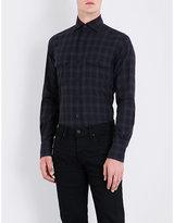 Tom Ford Checked Slim-fit Cotton Shirt