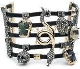 Alexis Bittar Soft Leather Strand Cuff Bracelet