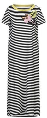Rose' A Pois 3/4 length dress