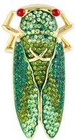 Butler & Wilson Vintage Crystal Beetle Brooch