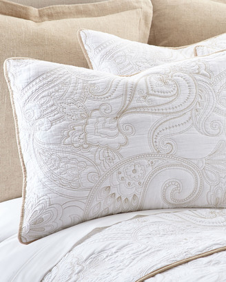 Levtex Perla White Full/Queen Quilt Set