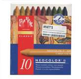 Caran d'Ache Neocolor Ii 10 Watersoluble Crayon Set-Autumn