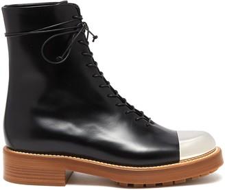 Gabriela Hearst Riccardo' metal toe leather boots