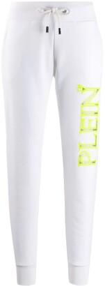 Philipp Plein TM logo-print jogging trousers