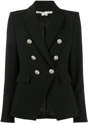 Veronica Beard Double Breasted Military Jacket