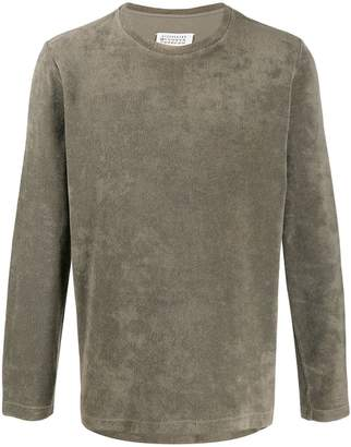 Maison Margiela Pre-Owned 2000s textured long-sleeved T-shirt