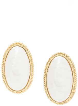 Givenchy Pre Owned Oval Shape Earrings