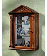 Toscano Essex Hall Wall-Mounted Curio Cabinet Design