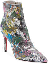 Christian Louboutin So Kate Glitter Red Sole Booties