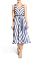 Tommy Bahama &Chateau Stripe& Midi Dress