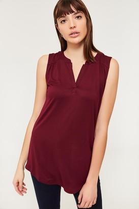 Ardene Sleeveless V-neck Top - Clothing  