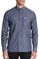 Fred Perry Drakes Paisley Sportshirt